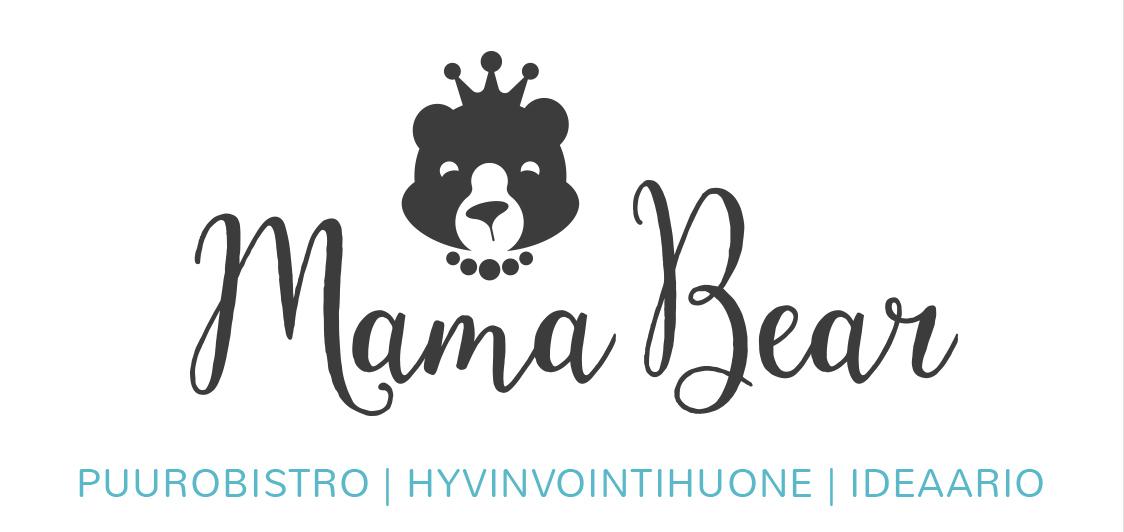Mama Bear. Puurobistro • Hyvinvointihuone • Ideaario. ma–pe 7.30–18, La 9–16 Laukontori 6 B, Tampere